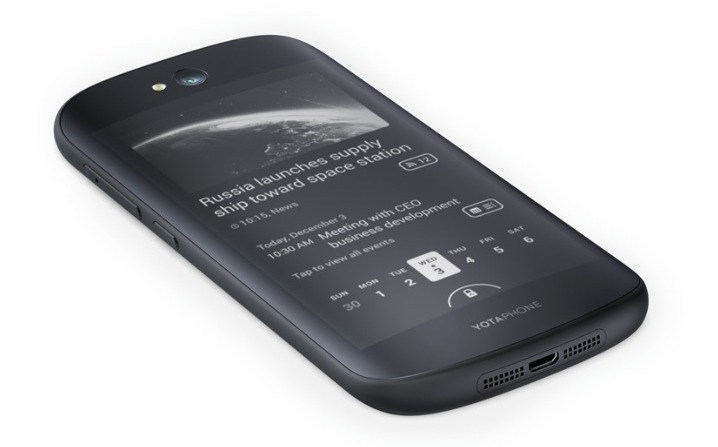 Le Yotaphone 2 sera chez Lick à partir du 12 décembre