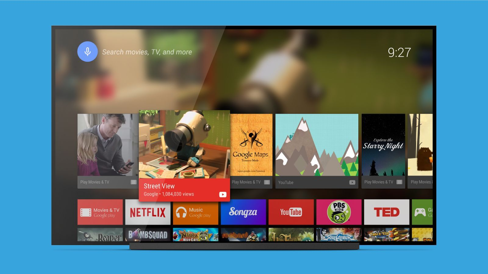 Android TV Launcher est là pour vous convaincre que Google et la télévision sont bien compatibles