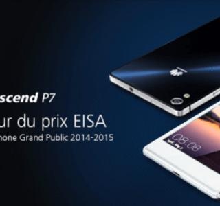 Bon plan : L'Ascend P7 de Huawei est à 239,90 euros seulement