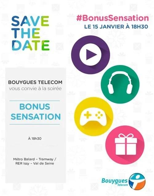 Les «Bonus Sensation» arriveront le 15 janvier chez Bouygues Telecom