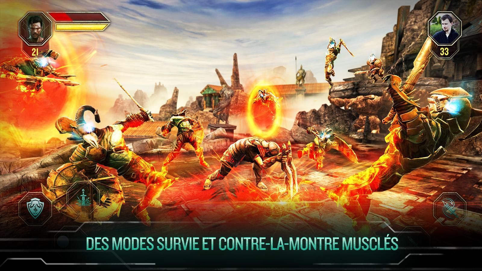 Godfire : Rise of Prometheus se veut le God of War du jeu sur mobile