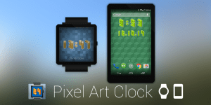 Zoom sur Pixel Art Clock, l'horloge pixellisée !