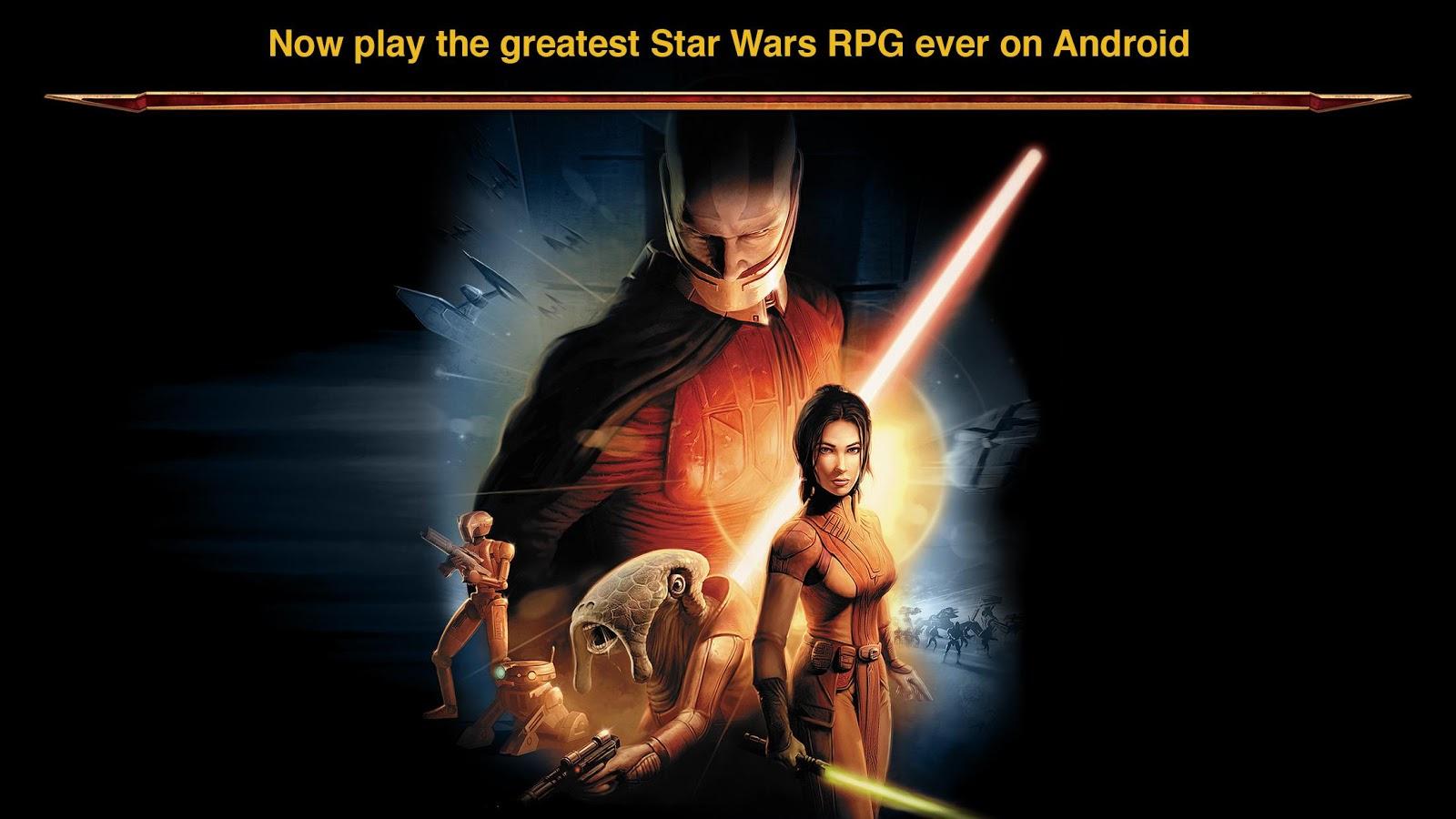 Knights of the Old Republic bascule du bon côté de la force et rejoint les appareils Android