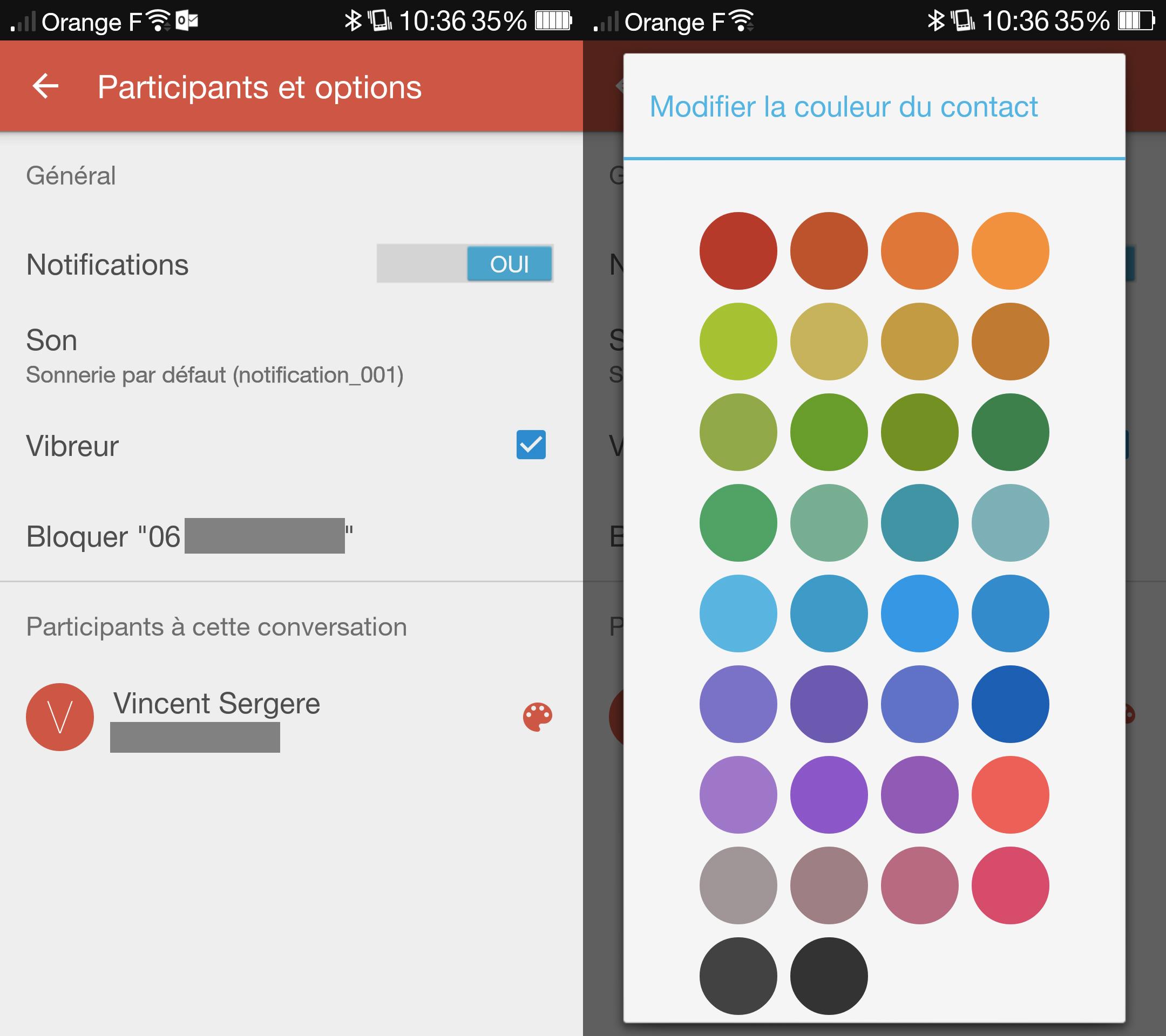 La prochaine version de Google Messenger met le cap sur la personnalisation