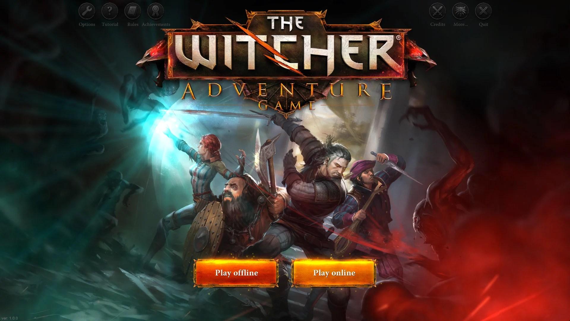 The Witcher Adventure Game passe du jeu de plateau au jeu vidéo