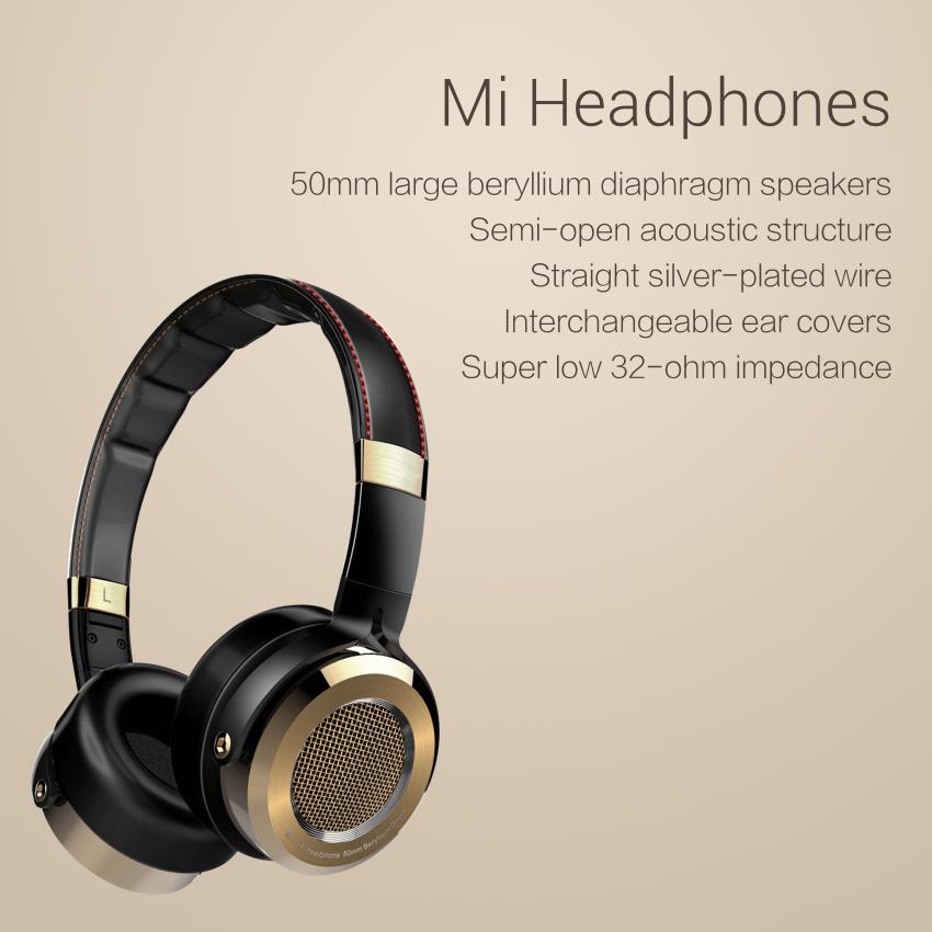 Xiaomi Mi Headphones : le constructeur fait aussi dans les casques