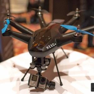 Hexo+ : le drone français qui peut vous filmer partout