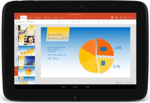 La suite Microsoft Office pour les tablettes Android est désormais disponible en version finale