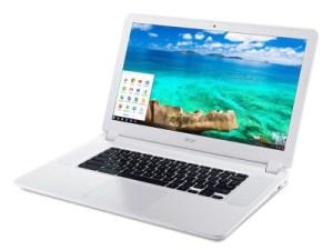 Acer Chromebook 15 : de l'Intel Core i3 et du 1080p