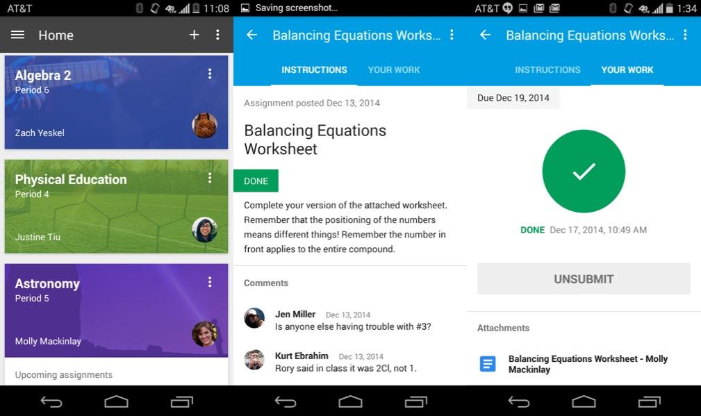 Google Classroom : le cahier de textes est maintenant virtuel