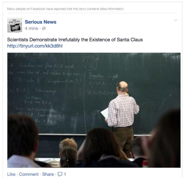 Facebook veut vous avertir des faux contenus diffusés sur ses fils d'actualités