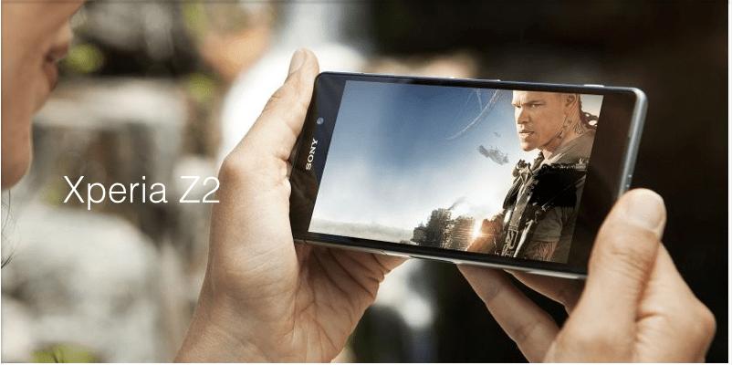 Bon plan : le Sony Xperia Z2 à 369,90 euros