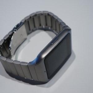 Sony SmartWatch 3 en métal, nous l'avons vue !