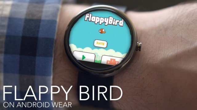 Installer Flappy Bird sur une smartwatch Android Wear ? C'est possible !