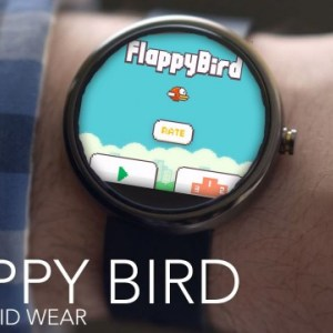 Installer Flappy Bird sur une smartwatch Android Wear ? C'est possible !