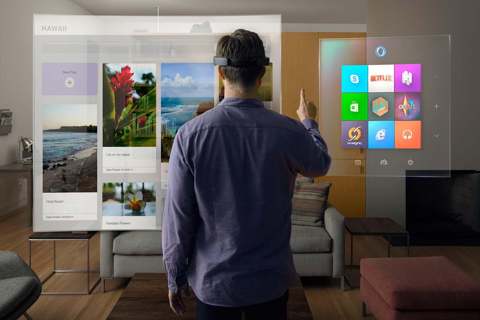 Microsoft Hololens permet de facilement redécorer son intérieur en réalité mixte