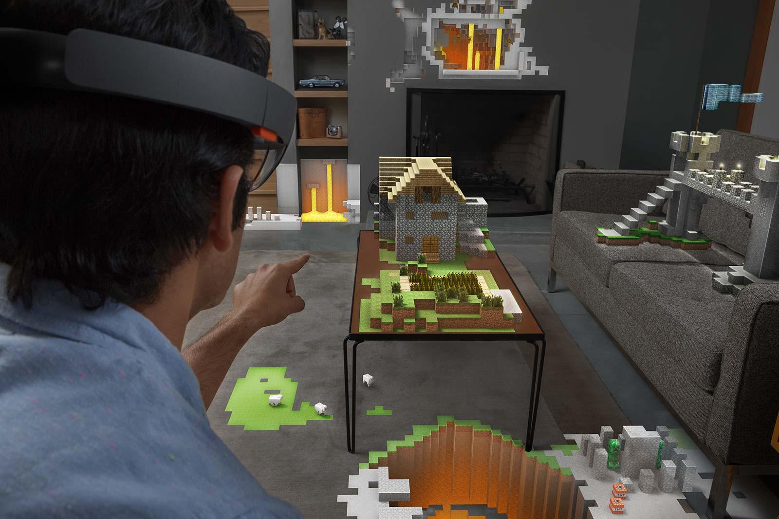 Réalité augmentée : Google travaille sur un concurrent de Microsoft Hololens