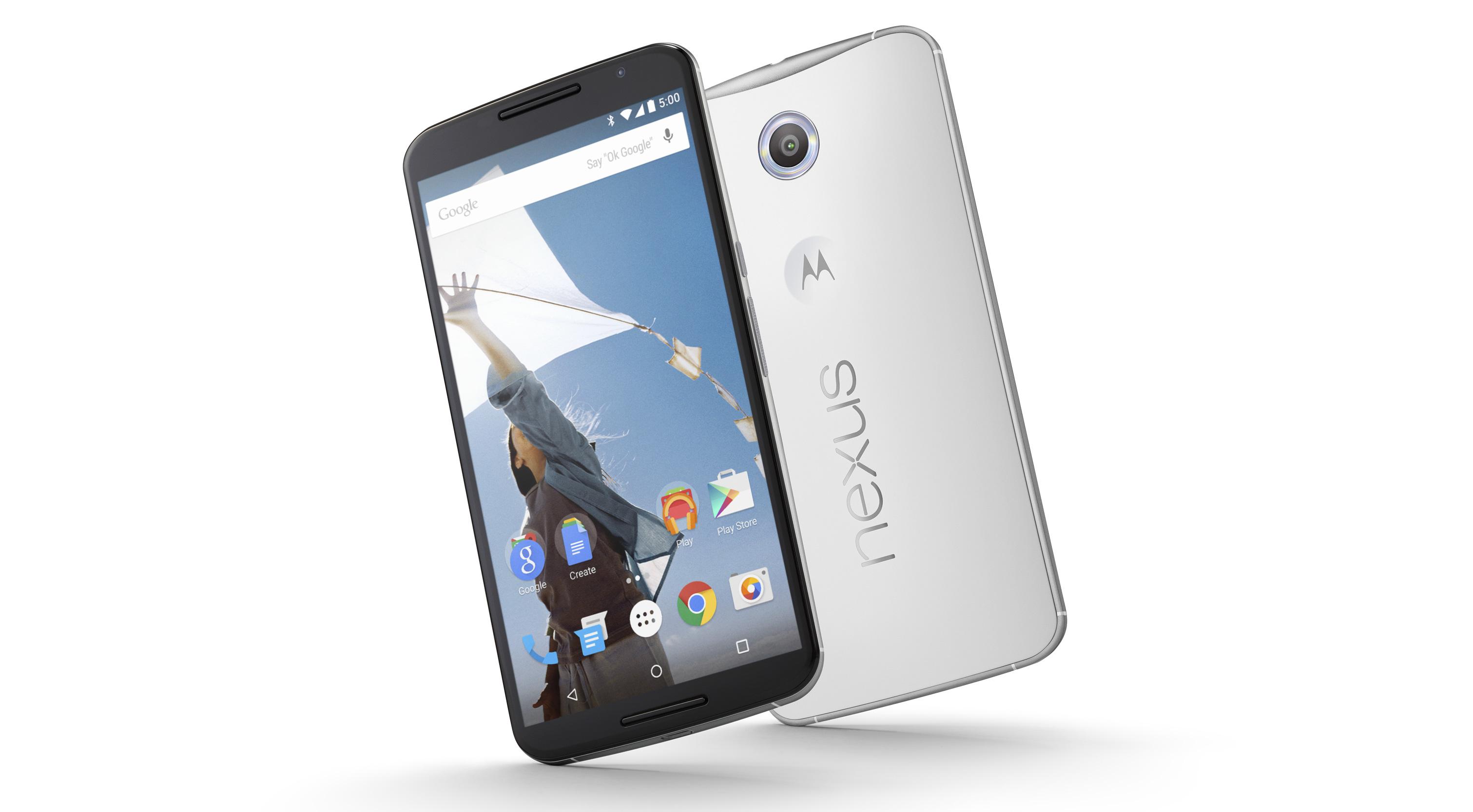 LG et Huawei pour deux smartphones Nexus de 5,2 et 5,7 pouces ?