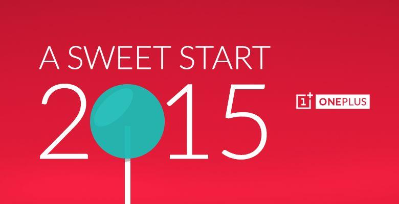 OnePlus One : Lollipop peut-être prévu pour aujourd'hui (ou peut-être demain) (ou après-demain)