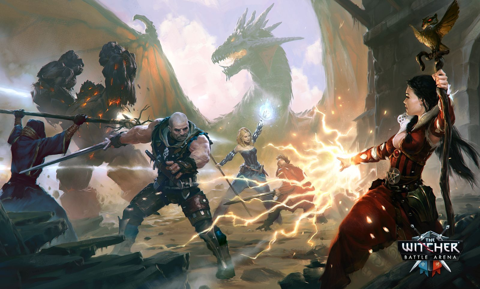 The Witcher Battle Arena tente d'introduire le genre du MOBA sur mobile