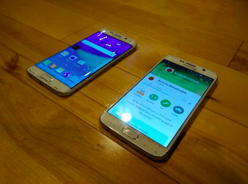 Galaxy S6 Edge et Galaxy S6 : deux photos volées des flagships coréens