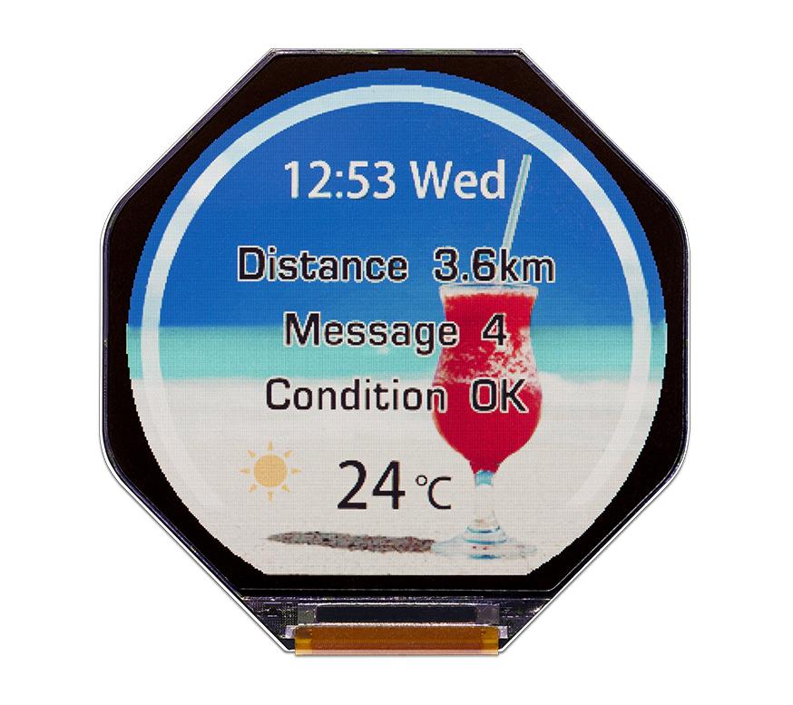 JDI annonce un écran très économe en énergie pour les montres connectées