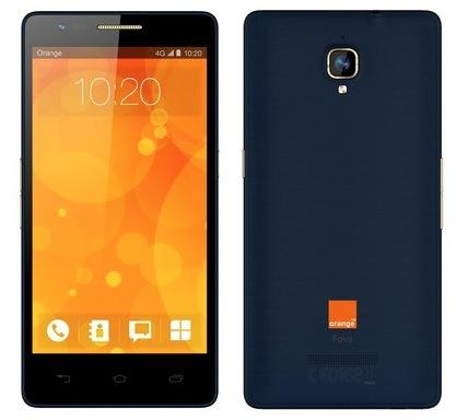 Orange présente le Fova, son nouveau smartphone 4G à très bas prix