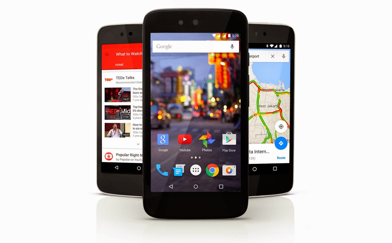 Les smartphones Android One disponibles aux Phillippines avec Android 5.1
