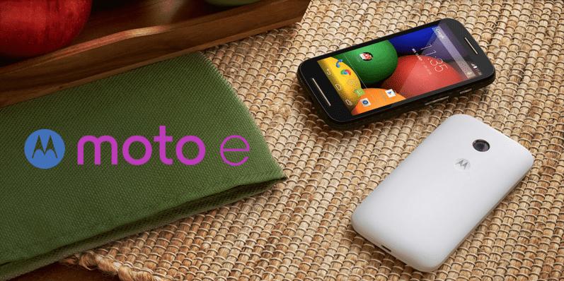Bon plan : le Moto E de Motorola à 72 euros