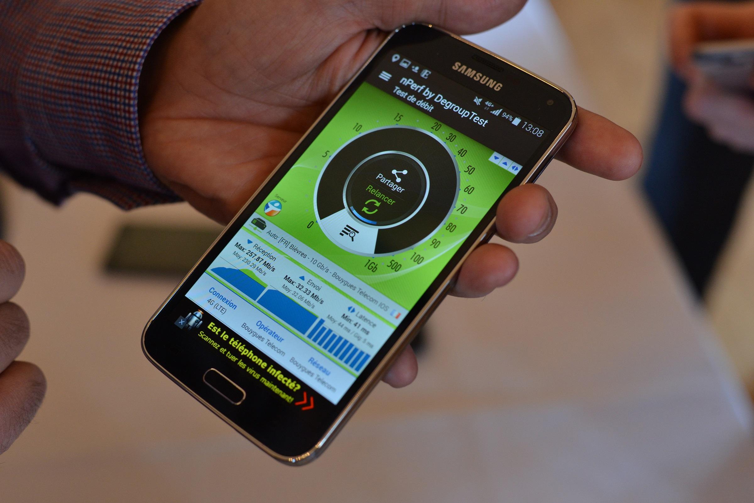 Classement des meilleures connexions internet mobiles en France en 2017 selon nPerf
