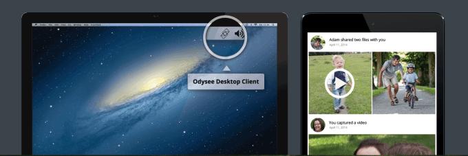 Google met la main sur Odysee, une application de synchronisation et partage de photos