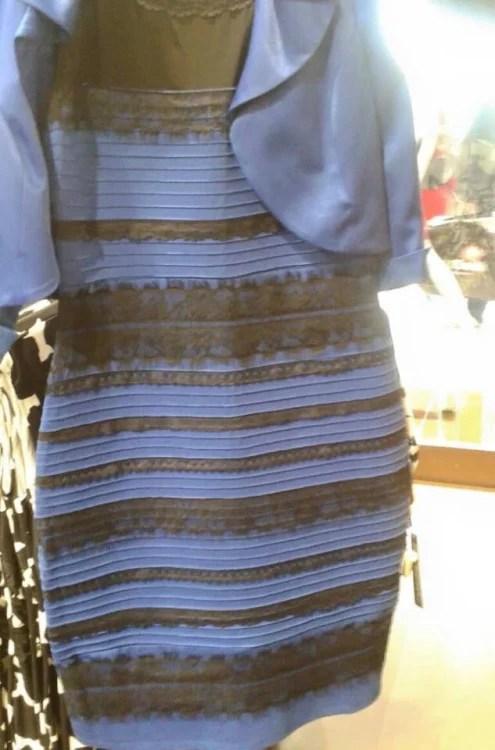 Si la robe est blanche ou bleue, c'est à cause de votre écran ! #LaRobeEst