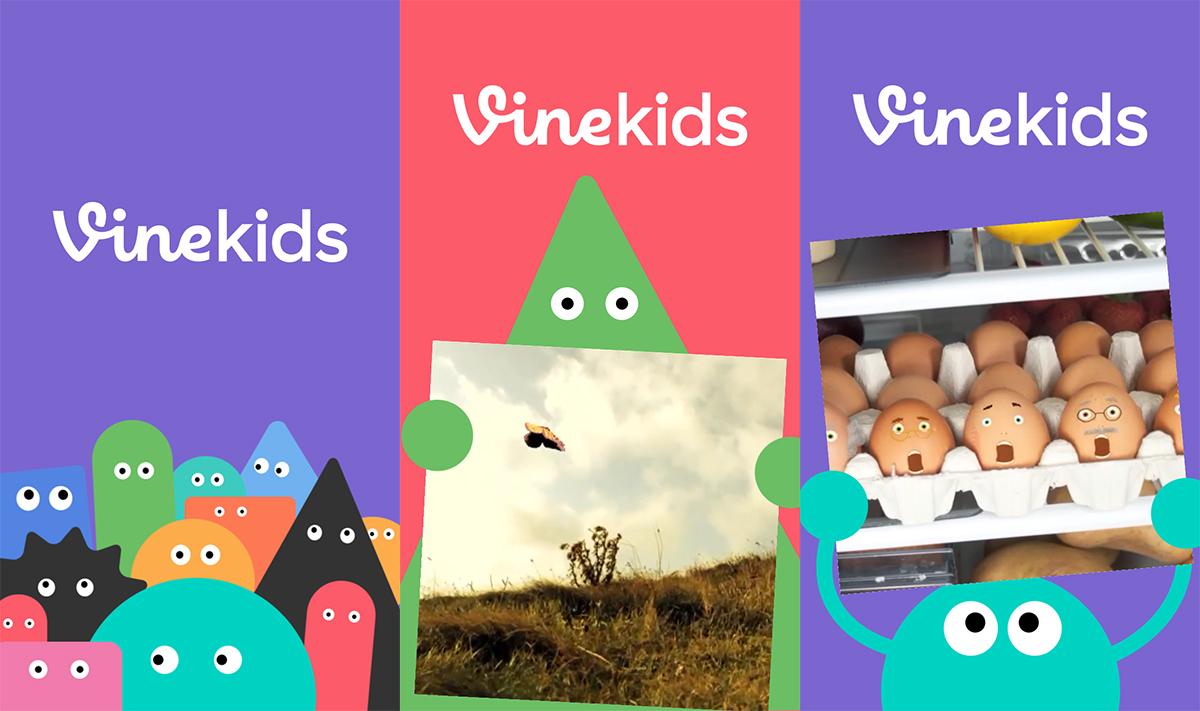 Vine Kids : une version cour de récré pour occuper vos enfants