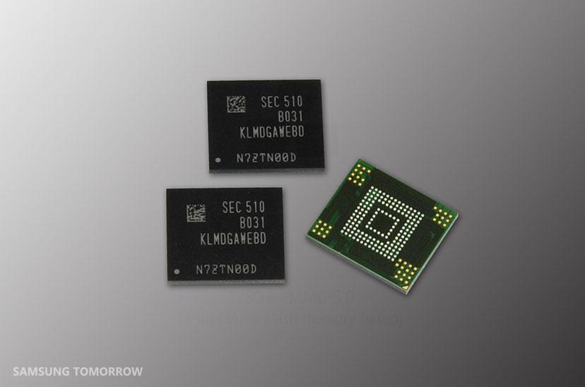 Samsung dévoile une nouvelle puce flash de 128 Go