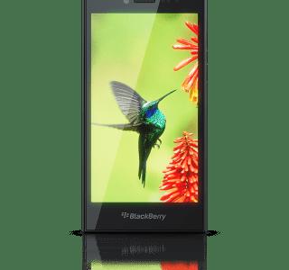 BlackBerry présente le Leap, un smartphone tout tactile, ainsi qu'un prototype d'écran incurvé