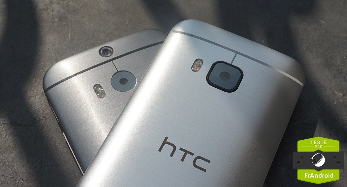 HTC One M8 vs One M9 : performances, photo et autonomie passées au crible