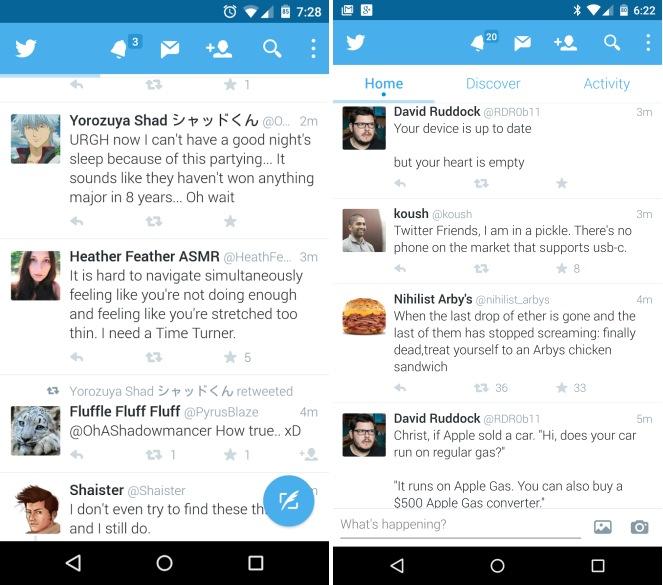 Twitter : bientôt un bouton flottant et du streaming vidéo ?