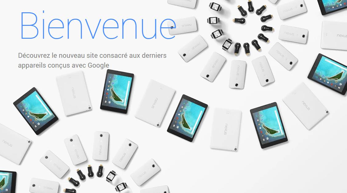 Google lance (enfin !) une boutique en ligne dédiée aux appareils Android
