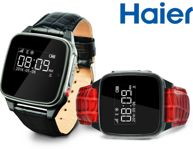 Haier SOS : des montres et un collier connectés orientés sécurité