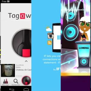 Les apps de la semaine : WhoSampled, Tagawine, IF by IFTTT, Wazasound Quiz Blind Test, Fartners – Fart Farts Together