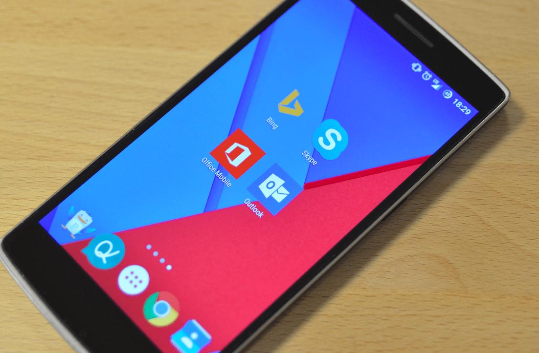 Comment Microsoft compte se rendre incontournable sur Android