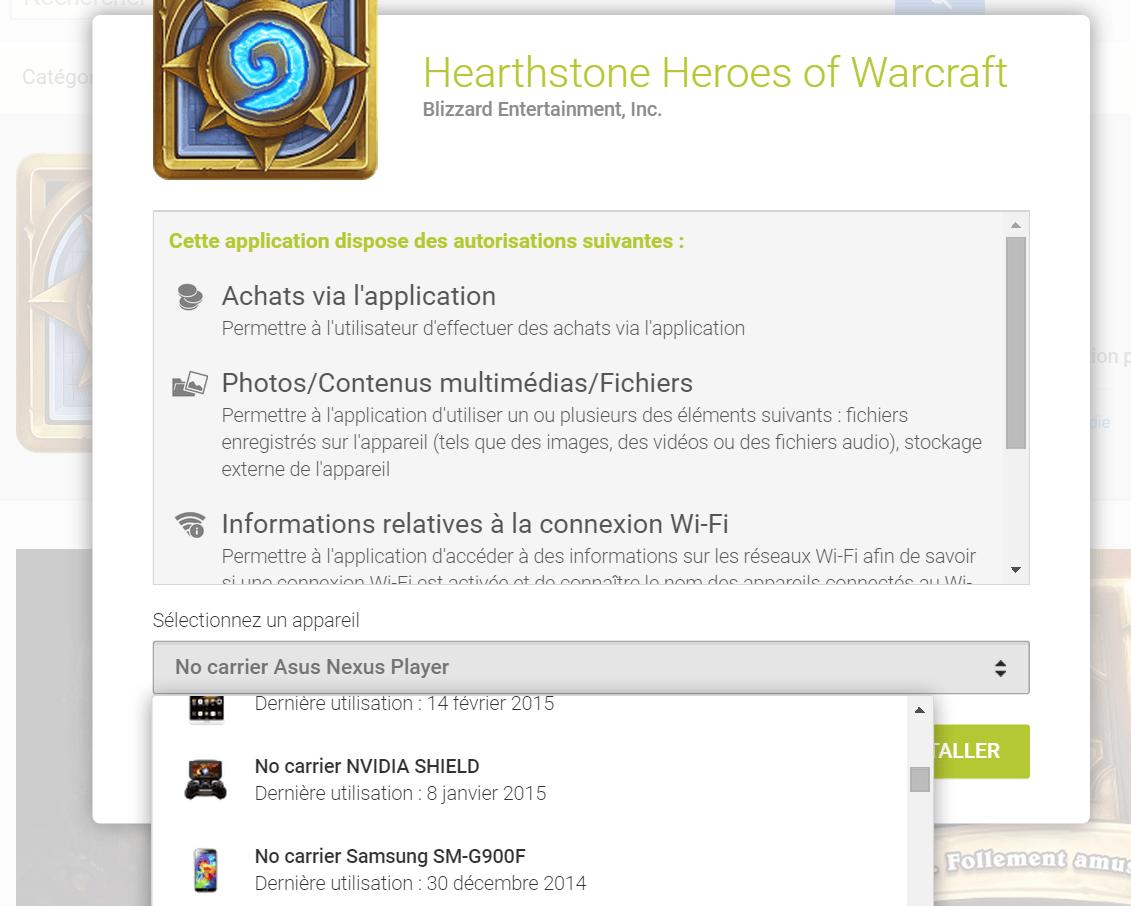 Hearthstone disponible pour smartphones Android (et aussi sur iPhone)