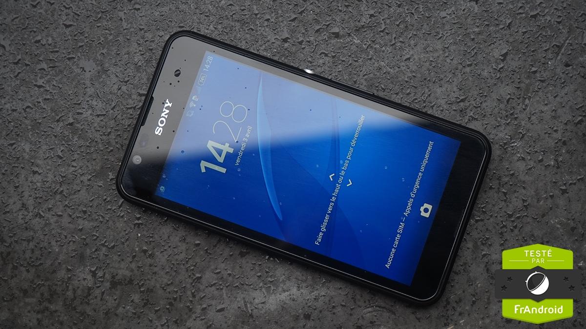 Test du Sony Xperia E4g, juste la 4G pour se démarquer ?