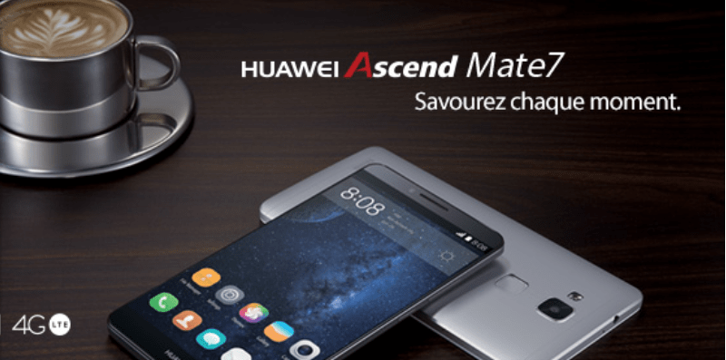 Vente flash : le Huawei Ascend Mate 7 est à 349 euros