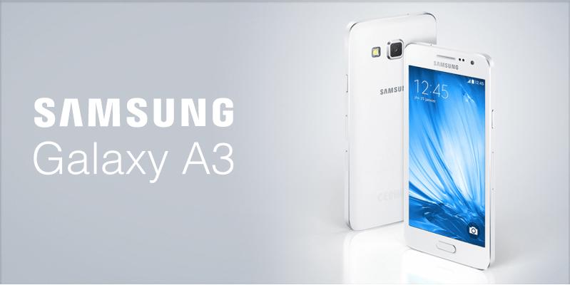 Bon plan : Le Samsung Galaxy A3 à 265 euros (et 30 euros d'ODR)
