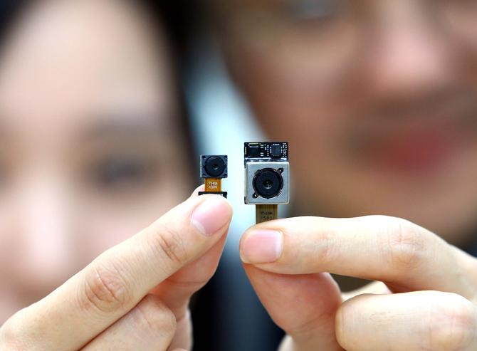 LG a développé lui-même le capteur photo du LG G4