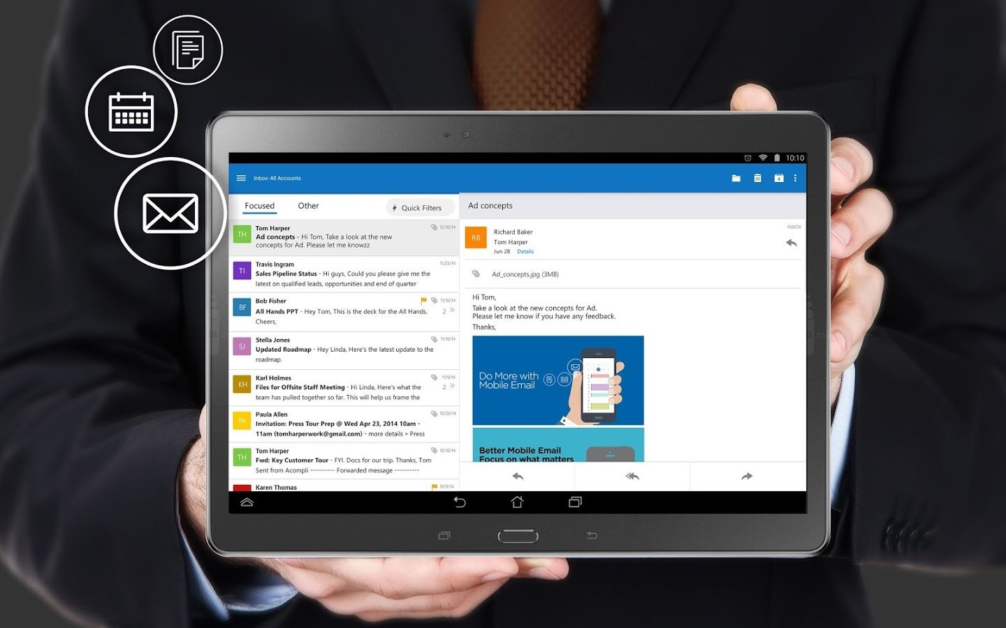 Outlook pour Android sort officiellement de version preview