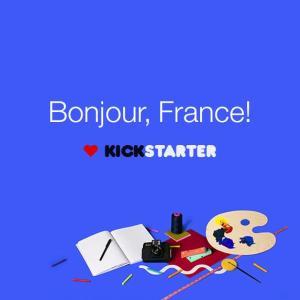 Pour son arrivée en France, Kickstarter cherche à séduire les porteurs de projets