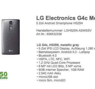 LG G4c : le G4 au format réduit et abordable ?