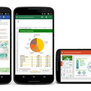 Microsoft Office (Word, Excel et PowerPoint) en version finale pour les smartphones Android